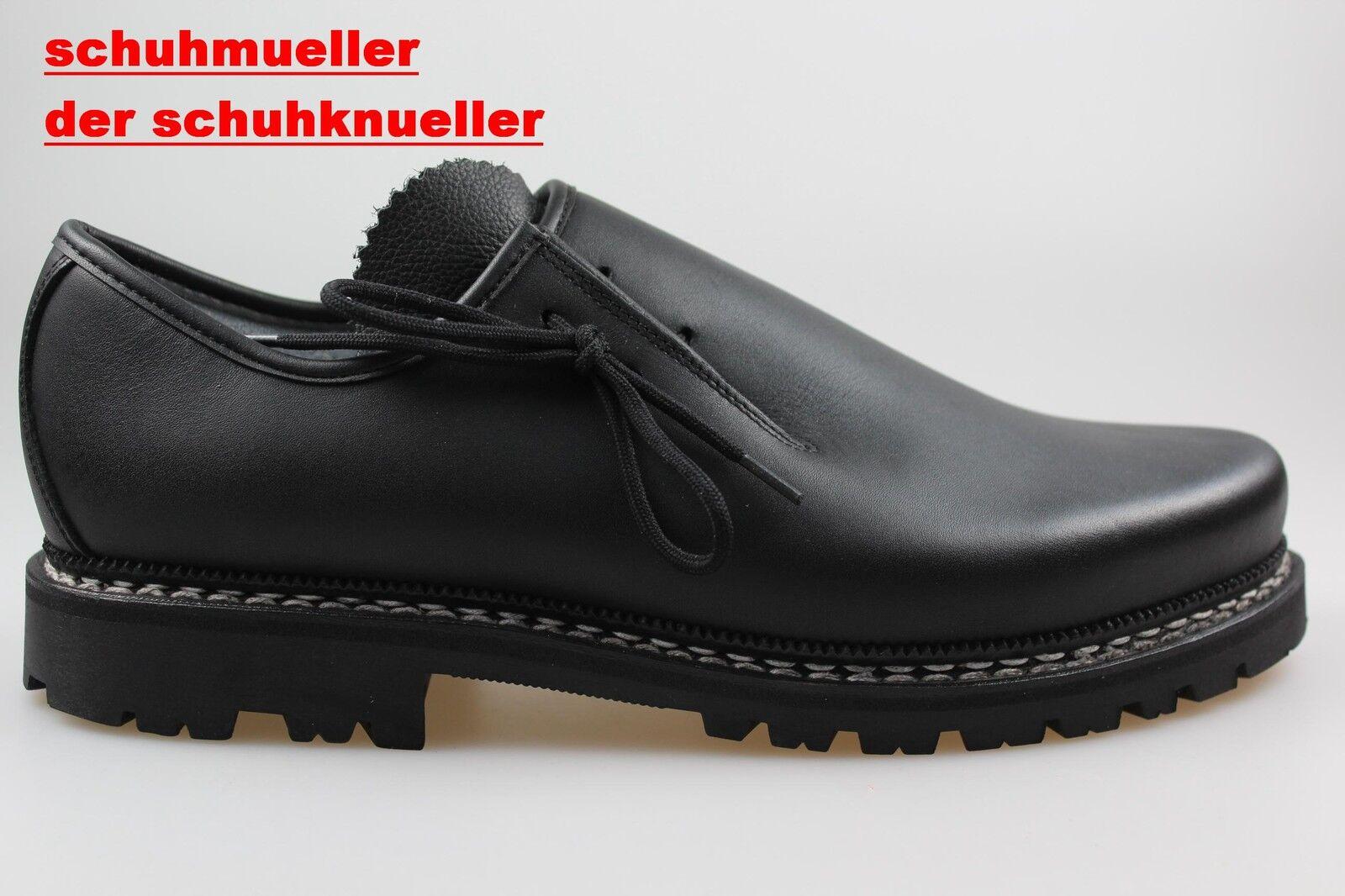 Haferlschuhe Meindl 86 M schwarz, 1080-01