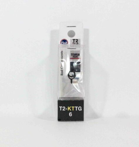 0334 Fuji T2-KTTG Size 6 Rod Guide Torzite Titanium K Frame x 1 piece