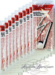Haute Qualité 15cm Fuseau 2 X Peterson Conique de Luxe Nettoie-Pipes Paquet 50