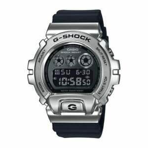 New-Casio-G-SHOCK-GM-6900-1ER-Case-Steel-And-Resin-Watch-Strap-Black-Cool