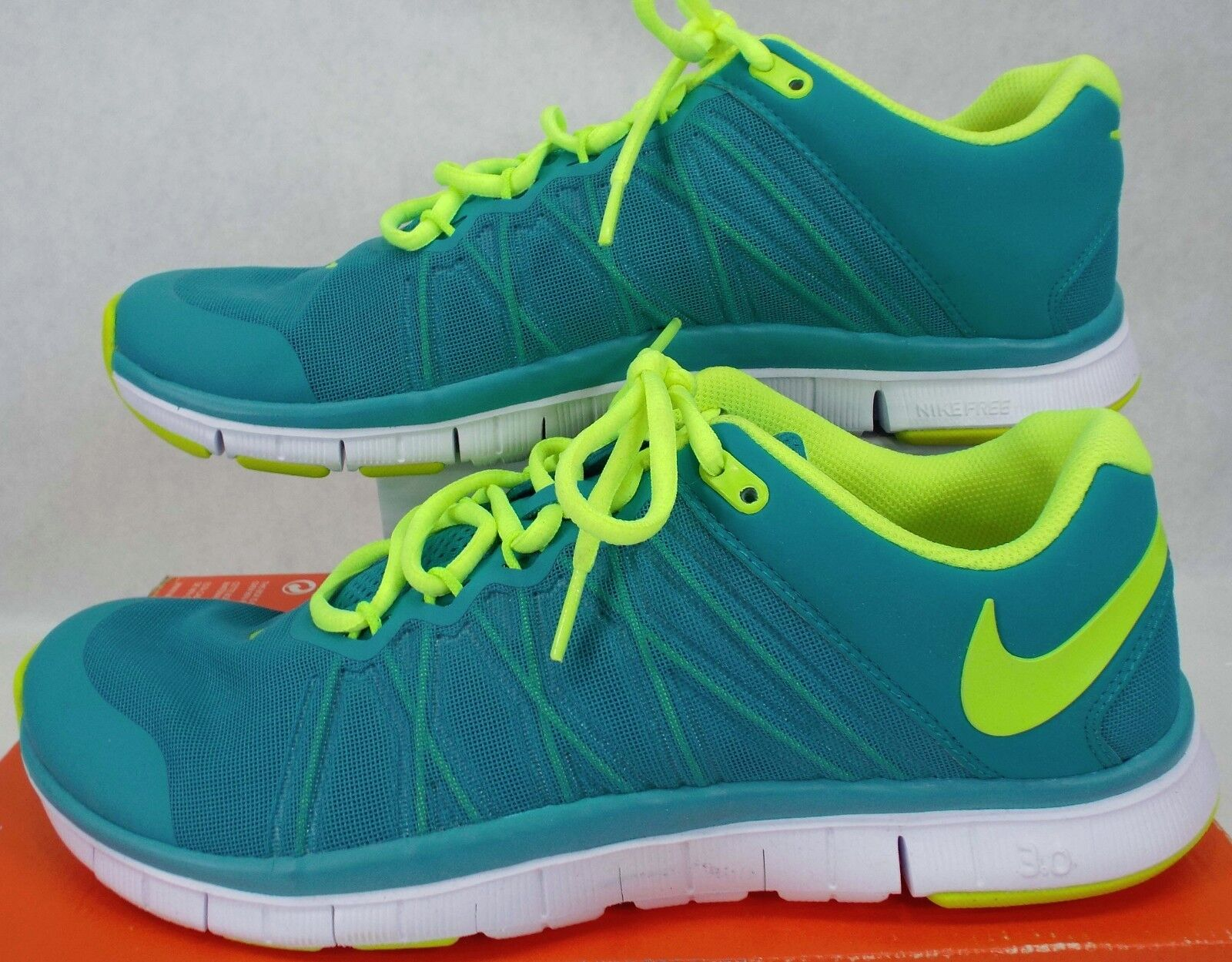 New Mens 11 NIKE Free Trainer 3.0 Turbo Green Shoes 110 630856-371