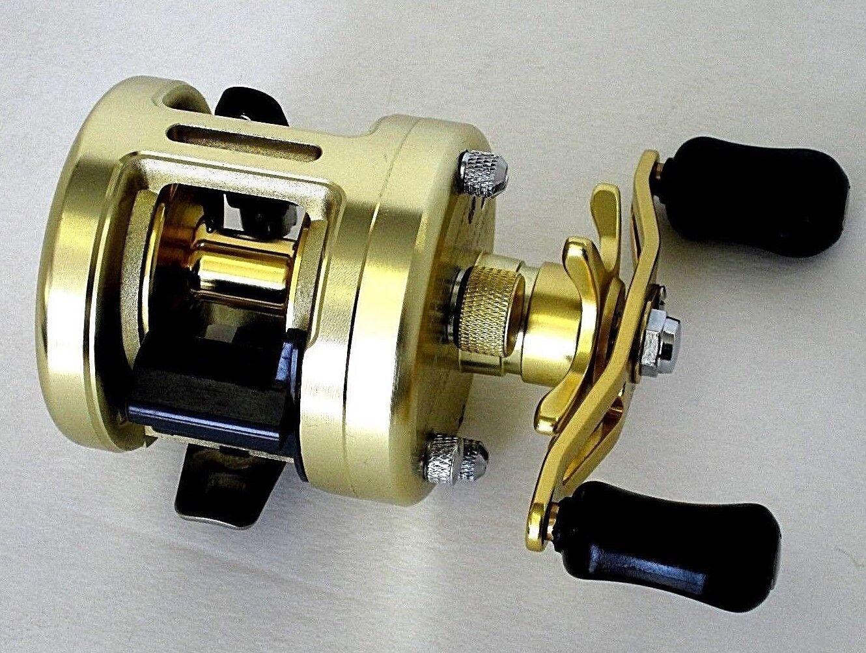 Round Baitcasting Reel CNC Full Metal Body  Freshwater N Saltwater Fishing