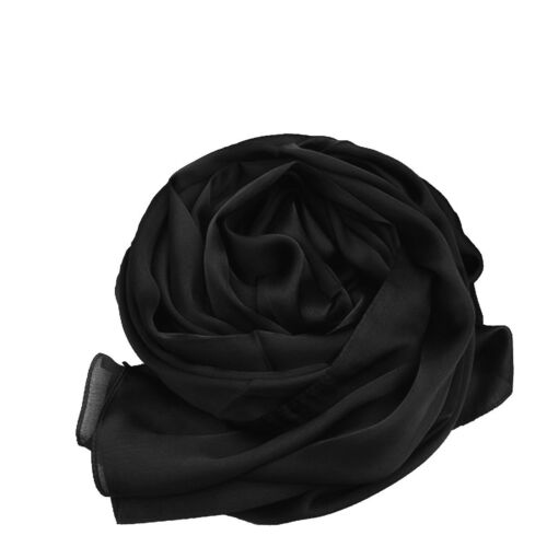 Wrap Scarf Exquisite Soft and Silky Large 100/% SILK SATIN Shawl Throw