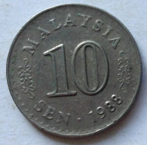 Parliament-Series-10-sen-coin-1988-A