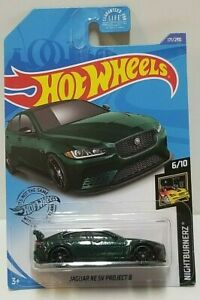 Hot Wheels 2020-jaguar XE SV Project 8-nightburnerz 171-nuevo en caja original