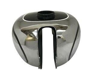 Horex-Regina-Moto-Gas-Essence-Reservoir-de-carburant-en-chrome-et-en-acier-noir
