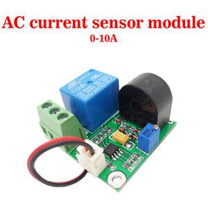 Travail-DC24V-0-10A-AC-Actuel-Capteur-Module-Detection-Interrupteur-Sortie