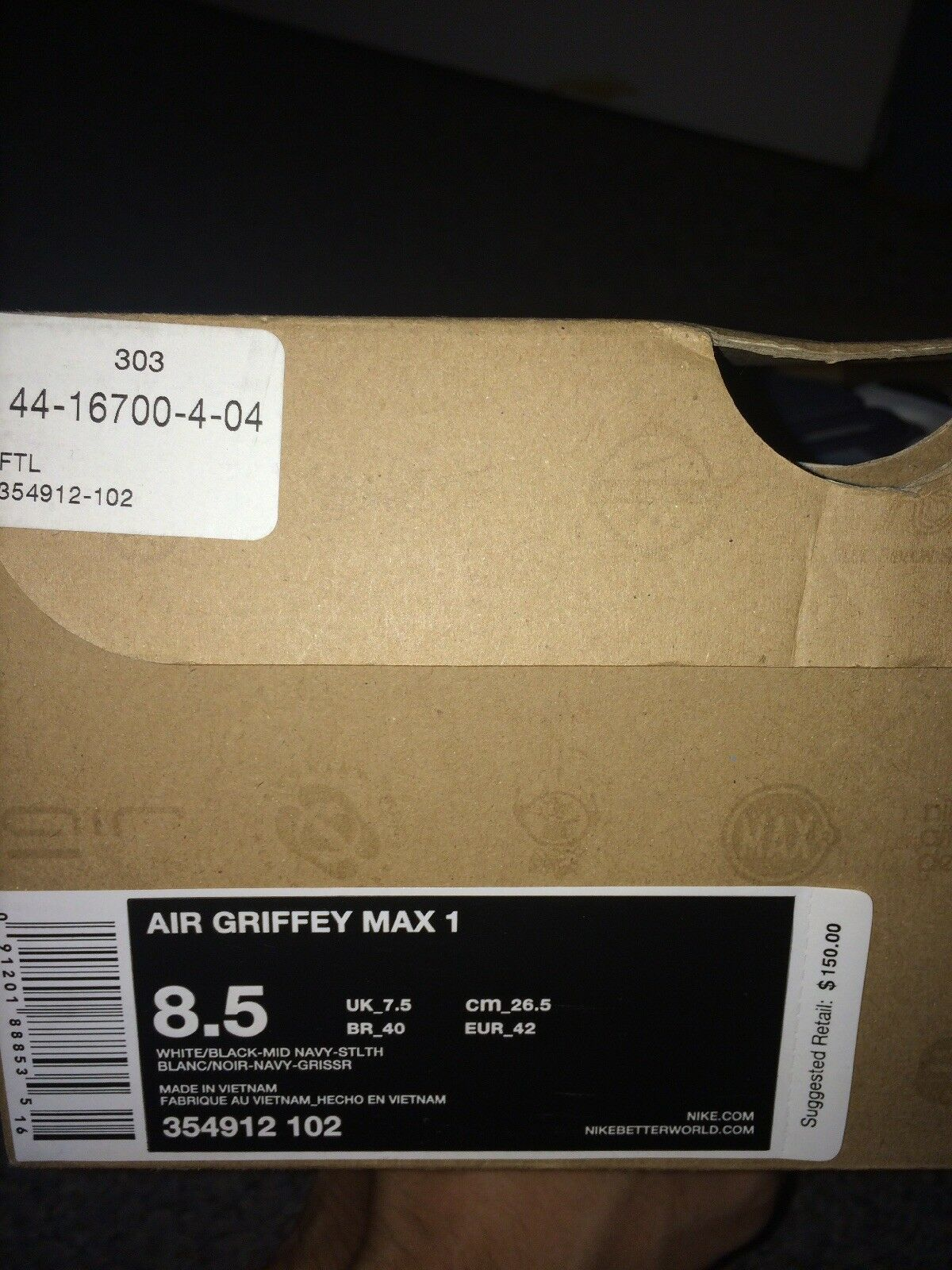 Nike Air Griffey Max 1 Mid Navy Blue Comfortable Great discount