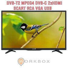 "TV Led 24"" HD Ready ARIELLI Nero AR24DN6T2 Hdmi Usb Digitale Terrestre T2 DVB-T2"