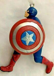 Hallmark-Red-White-Blue-3-5-034-Marvel-Spiderman-Figurine-Ornament