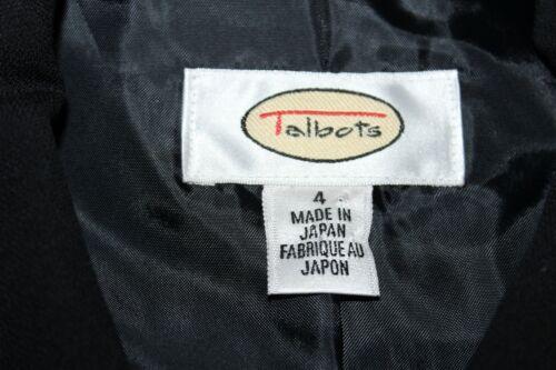Talbots jack 100 len 4 zwart effen glad Dames wollen rwqPpfr8