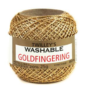 twilleys-goldfingering-METALLIZZATO-poliestere-5-CONTE-UNCINETTO-HOBBY-FILO-25g