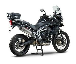 YOSHIMURA-RS4-STAINLESS-SLIP-ON-EXHAUST-END-CAN-TRIUMPH-TIGER-800-800XC