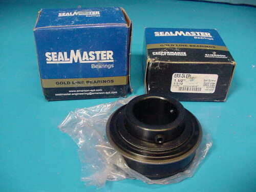 "Sealmaster Goldline Bearing ERX-24 LO EPI 1 1//2/"" shaft Spcl lo drag seal"