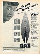 PUBLICITE ADVERTISING 024   1955   GAZ DE VILLE 2