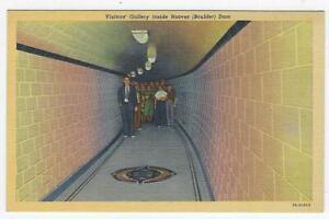 Boulder Dam Nevada Visitor's Gallery Powerhouse Vintage Postcards Lot of Three