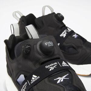 Reebok-Adidas-Colab-Instapump-Fury-BOOST-OG-Classic-Black-Air-Shaq-13-GUM-React