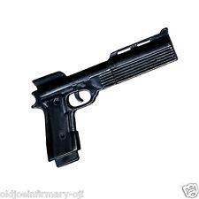 """M&C Toys Weapon KSC 9mm Auto RoboCop Style Handgun for 12"""" Figures 1:6 (8222g55)"""