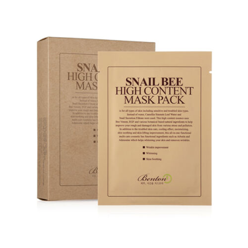 [Benton] Snail Bee High Content Mask Pack (10sheets) by Benton