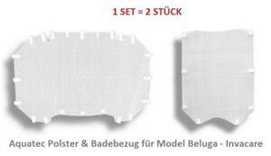 Aquatec Beluga Polsterbezug Set Badewannenlifter Bad Rücken