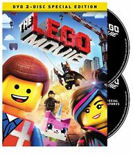 The LEGO Movie (DVD, 2014, 2-Disc Set, Special Edition; Digital Copy) NEW