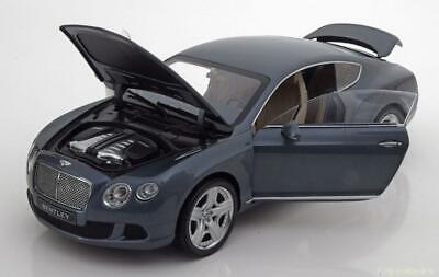 1:18 Minichamps Bentley Continental GT Thunder  2011 bluegrey-met.