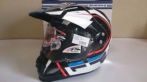 Arai Tour Cross 3 Detour Blue Motor Cycle Helmet Snell