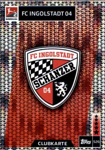 Clubkarte Bundesliga FC Ingolstadt  2 Topps Match Attax ACTION 18//19-526