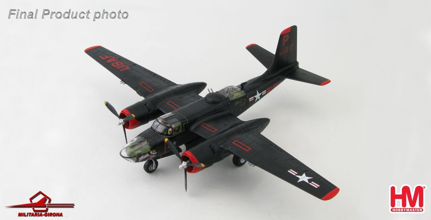 Hobby Master 1 72 HA3220 Douglas A-26B Invader USAF 17th BG 37th BS Monie Korea