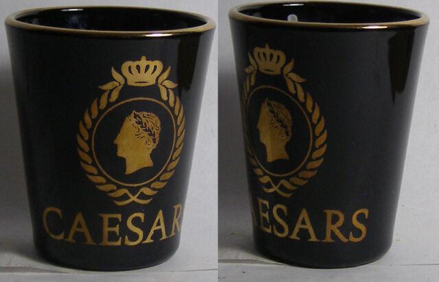 Caesars Logo Shot Glass #2729