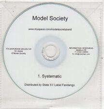 (ET606) Model Society, Systematic - DJ CD