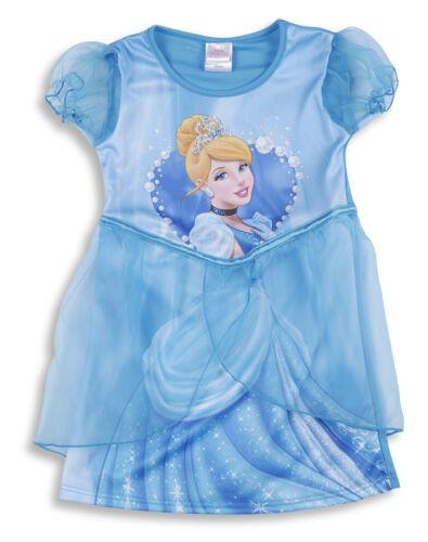 Disney Princess Cinderella Girls Kids Fancy Dress Up Costume Party Outfit