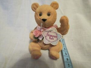 Treasured Pals Rose Bear B/D 14 March 1999