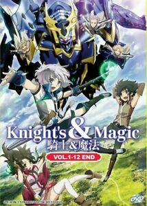 Anime-Dvd-Ingles-apodado-Caballero-amp-Magic-1-12End-envio-desde-EE-UU-DVD