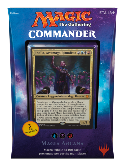 Various Commander 2017 Magic: The Gathering Trading Cards C17