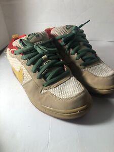 Rare-Nike-SB-P-Rod-Zoom-Air-Low-Hemp-Rasta-Dunk-Size-9-5-Preowned-Read