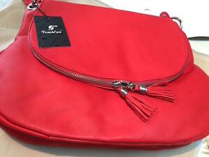 edf2db90b35 TOM EVA collection été 2017   sac à main cuir neuf