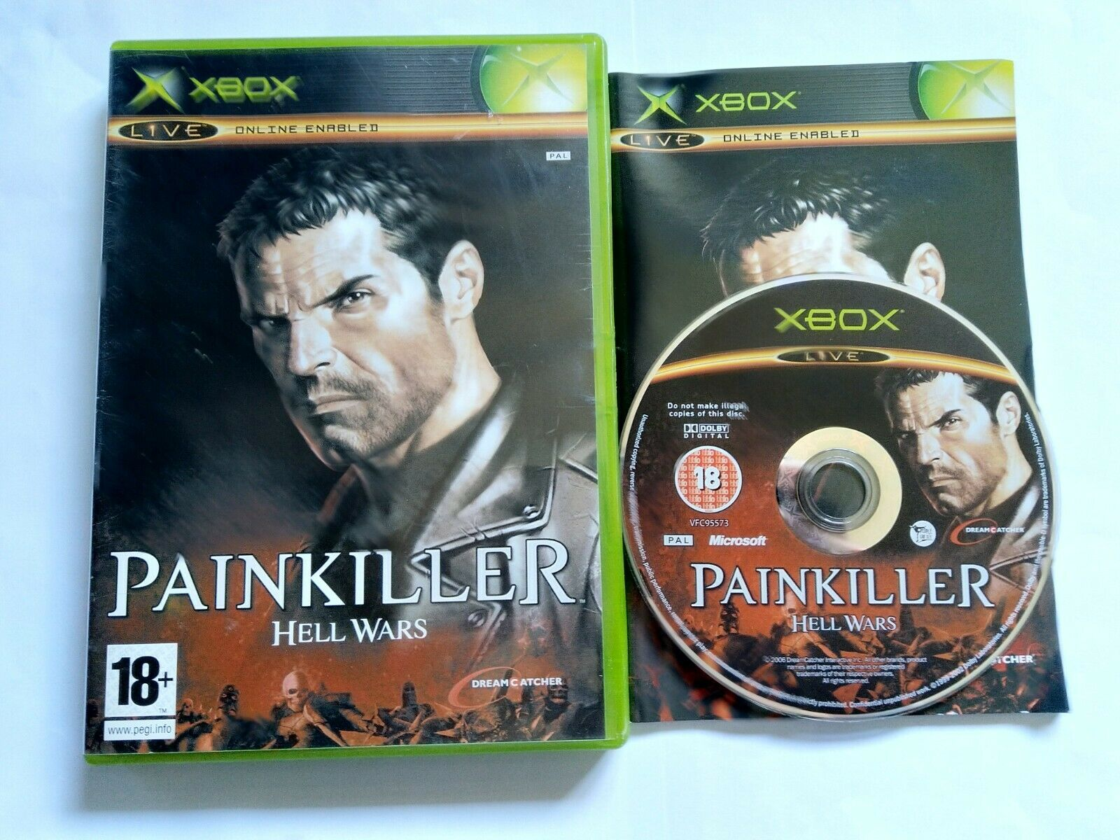 Painkiller: Hell Wars - Original Xbox Game - PAL - Free