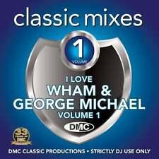 DMC Wham and George Michael Vol 1 Megamixes & 2 Trackers Mixes Remixes DJ CD