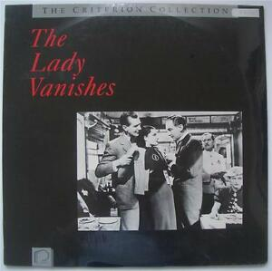 ALFRED-HITCHCOCK-The-Lady-Vanishes-NEW-SEALED-CRITERION-COLLECTION-Laser-Disc