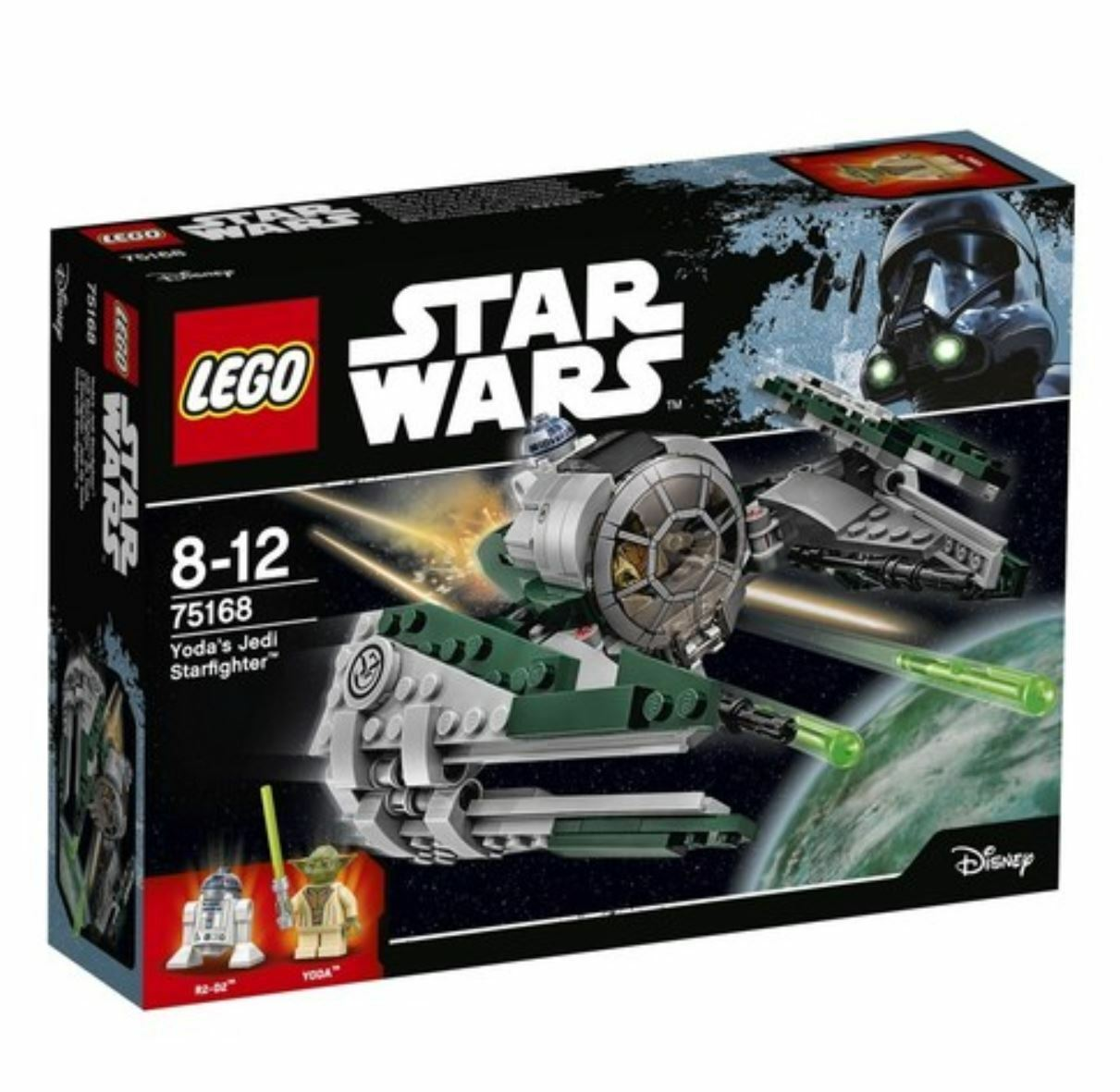 [LEGO] STARWARS Yoda's Jedi Starfighter™ 75168 2017 Version Free Shipping