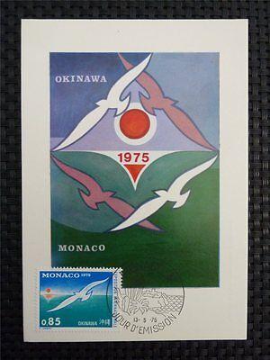 Motive Diverse Philatelie Herrlich Monaco Mk 1975 Expo VÖgel MÖwe Birds Gull Maximumkarte Maximum Card Mc Cm C1280