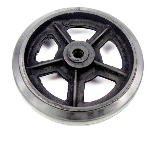 "Dayton MH4Z9901G 10/"" x 2/"" Rubber Hand Truck Wheel"