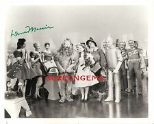 The Wizard of Oz signed photo Emerald City actress / choreographer Dona Massin