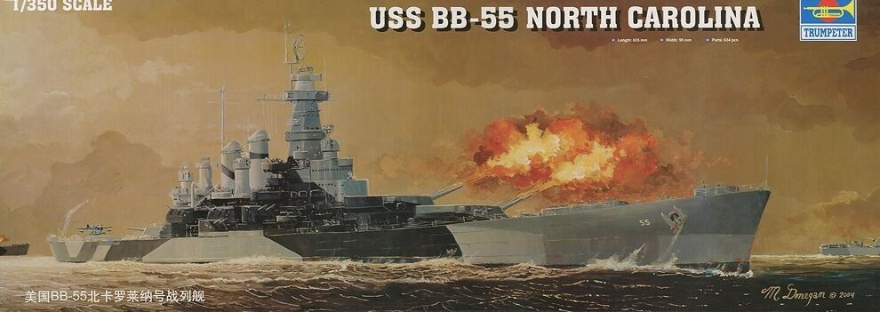 Célébrez le Nouvel An Noël USS BB-55 NORTH CAROLINA TRUMPETER 1/350 PLASTIC KIT | De Fin D'année Bonnes Affaires Vente