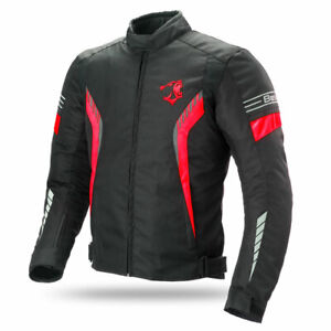 Yamoto-moto-impermeabile-Cordura-tessuto-Cordura-giacca-moto-CE-armature