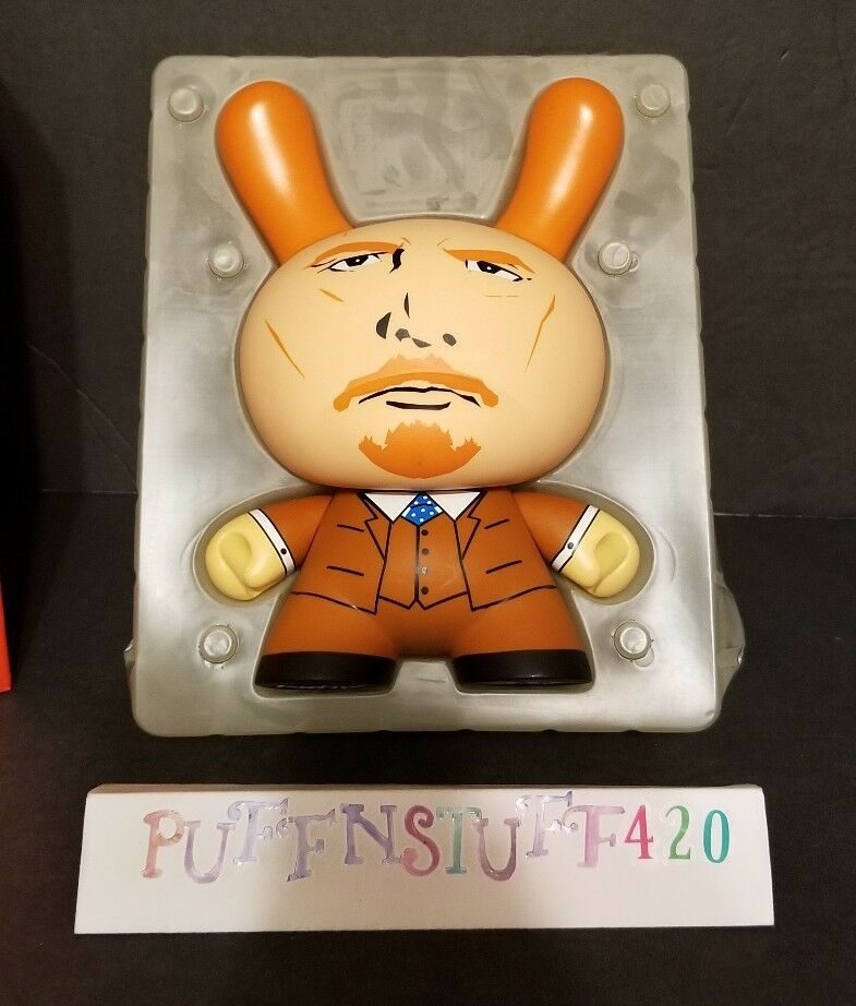 "Kidrobot frank kozik 8"" LENIN DUNNY brand new LE of 1000 from 2006"