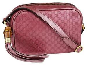 12f2653686de9 Image is loading Gucci-Soho-Guccissima-Sunshine-Disco-Rose-Pink-Leather-