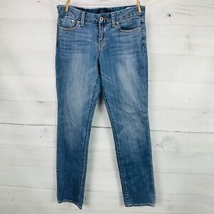 Lucky-Brand-Women-SWEET-JEANS-STRAIGHT-Mid-Rise-Denim-Blue-Jeans-Sz-8-29