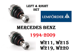 MERCEDES W208 W210 W211 W220 R107 W202 Front Suspension Lower Ball Joint SET